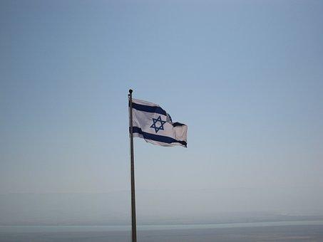 Flag, Israeli, Israel, Jewish, Nation, Banner, Icon