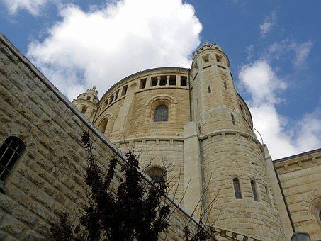 Jerusalem, Old, City, Building, Israel, Ancient