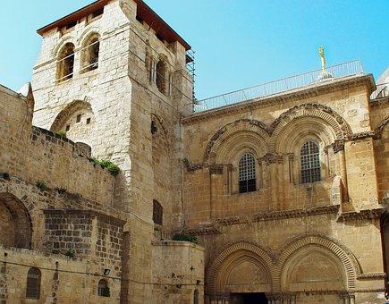 Israel, Jerusalem, Holy Sepulchre, Church, Religion