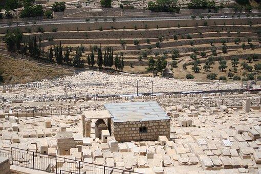 Jerusalem, Mount Of Olives, Holy