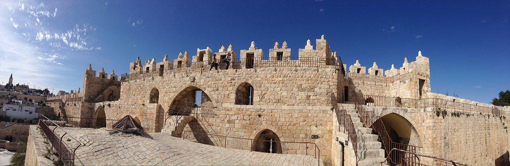 Jerusalem, Israel, Wall, Old Town, Judaism