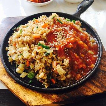 Fried Rice, Bob, Korean, Teppan Fried Rice