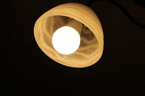 The Light Bulb, Lampshade, Fluorescent, Light