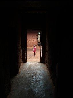 Doorway, Door, Entrance, Person, Traditional, Local