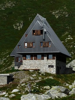 Rifugio Garelli, Alpine Hut, Mountain Hut, Hut, Stay