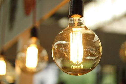 Light, Architecture, Lamp, Idea, Power, Old, Bulb