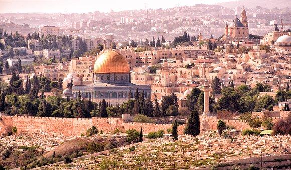 Jerusalem, The Dormition Church, Omar Mosque