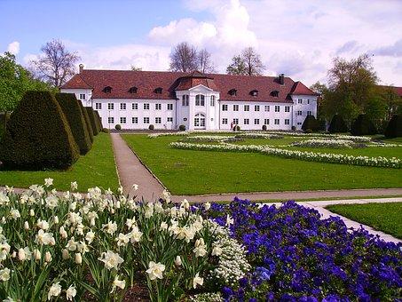 Kempten, Courtyard Garden, Garden, Orangery, Park