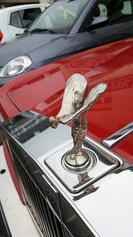 Rolls Royce, Radiator, Emblem, Expensive, Classic Car