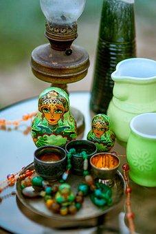 Matryoshka, Russian, Russia, Souvenir, Slave, Wooden
