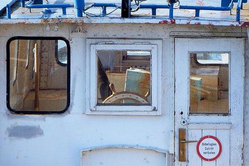 Ship Bridge, Old, Historically, Ship, Ferry, Prettin