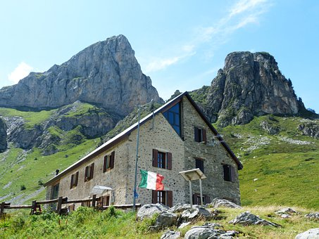 Rifugio Mondovì, Alpine Hut, Mountain Hut, Hut, Stay