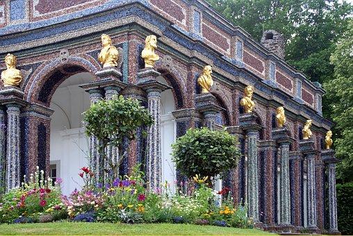 Castle, Hermitage, Sun Temple, Bayreuth, Jewellery
