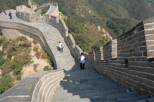 The Great Wall, Tourism, Climbing, Momentum