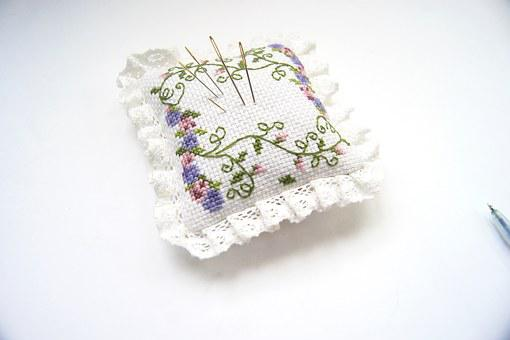Cross Stitch, Manual, The Needle, Embroidery Needles