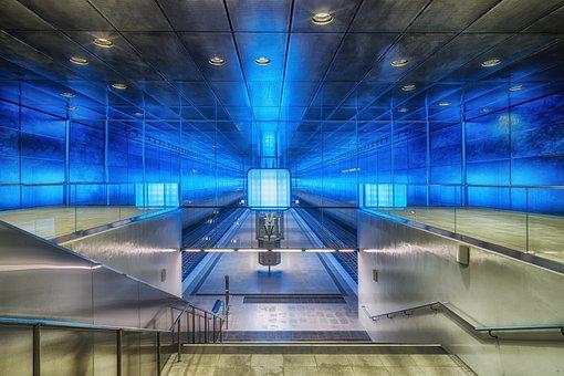 U4, Hamburg, Harbour City, University, Station, Stop