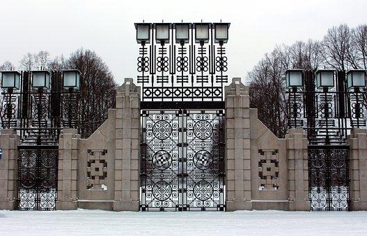 Oslo, Norway, Vigeland Park, City, Sculpture Park