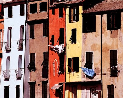 Color Colors, Italy, Home, Architecture, House