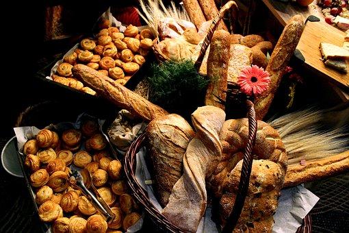 Bread, Food, Muffins, Bakery, Wine, Rico, Kitchen
