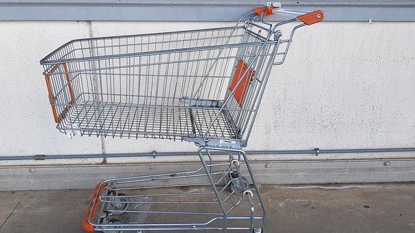 Shopping Cart, Cart, Supermarket, Purchasing, Shopping