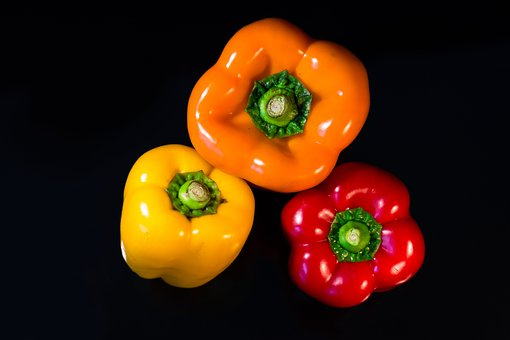 Paprika, Colorful, Healthy, Eat, Food, Fresh