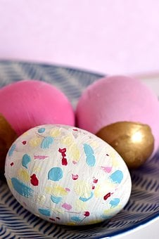 Easter, Egg, Eggs, Painted, Colorful, Colored, Cheerful