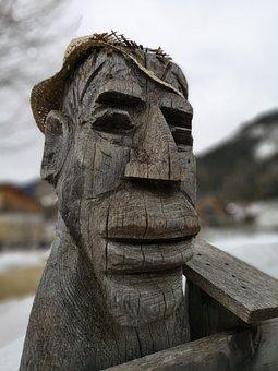 Man, Figure, Ugly, Carving, Wood, Fun, Troll, Mythology