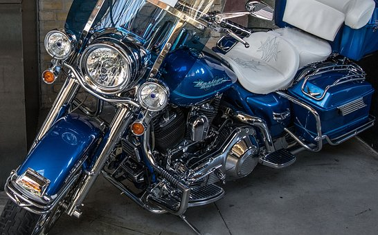 Harley Davidson, Motorcycle, Harley, Chrome, Motor