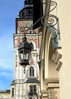 Replacement Lamp, Kraków, Street Lamp, The Old Town