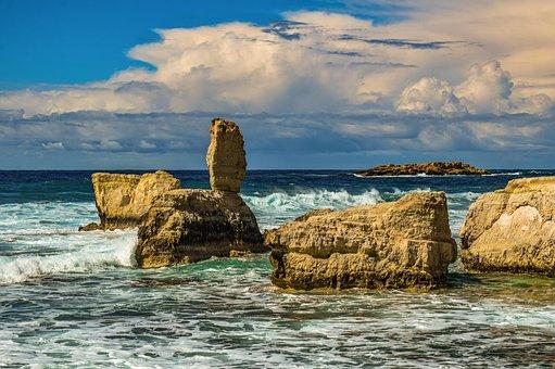 Rocky Coast, Rock, Formation, Nature, Landscape