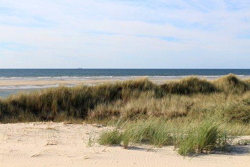 Langeoog, Island, East Frisia, North Sea, Coast, Beach