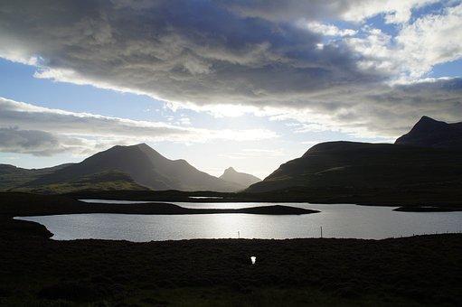 Hole, Highlands And Islands, Abendstimmung, Light