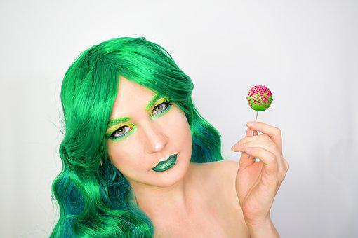 Makeup, Lollipop, San Patricio, St Patricks, Good Luck