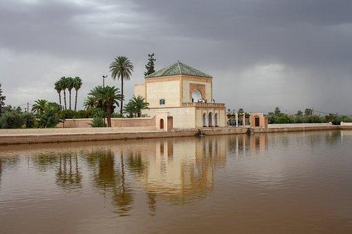 Morocco, Old, Arabic, Oriental, Architecture, Marrakesh