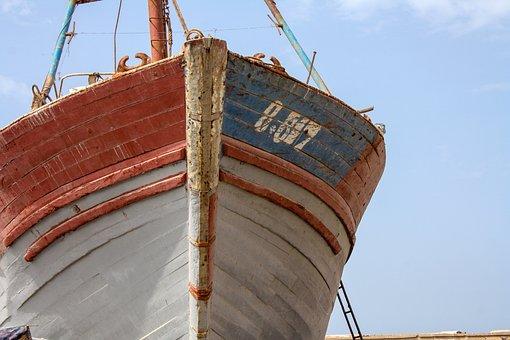 Boat, Port, Sea, Ship, Harbor, Boats, Morocco