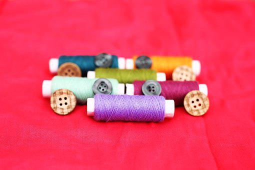 Thread, Embroidery, Sewing, Garment, Fabric