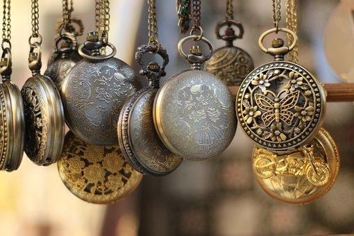 Watches, Pocket Watch, Time, Timepiece, Chain