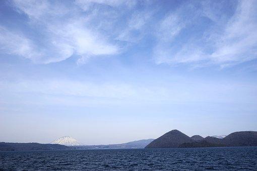 Sky, Lake, Water, Nature, Cloud, Landscape, Quiet, Blue
