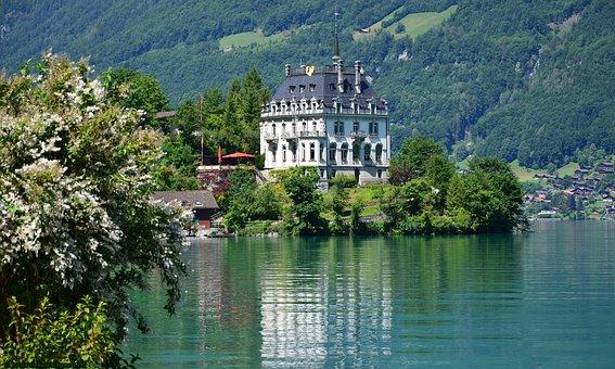 Lake, Mountains, Water, Landscape, Nature, Alpine, Sky