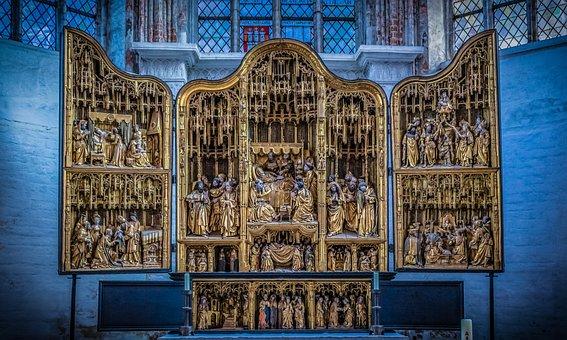Church, Altar, Shrine, Religion, Faith, Pray, Chapel