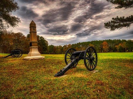 Chickamauga Battlefield, American Civil War, Cannon