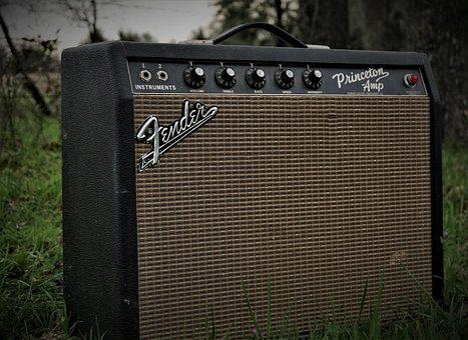 Amp, Fender, Concert, Amplifier, Music, Guitar, Rock