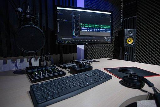 Studio, Microphone, Rec, Music, Radio, Audio, Sound