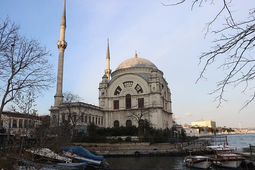 Istanbul, Throat, Dolmabahçe, Boat, V, Ship, Cami