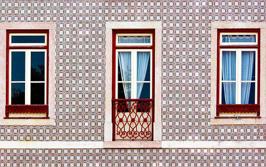 Portugal, Lisbon, Window, Tiles, Failure, Lisboa, City