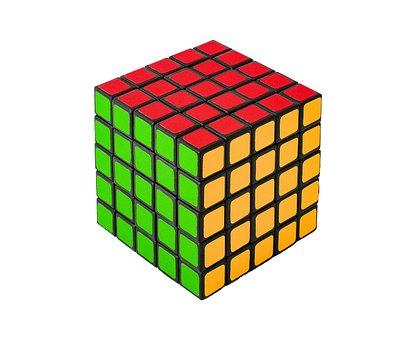 Cube, Rubik, Game, Development, Growth, Puzzle