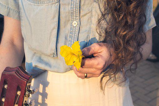 Flower, Hair, Details, Purity, Beauty, Flowers, Woman