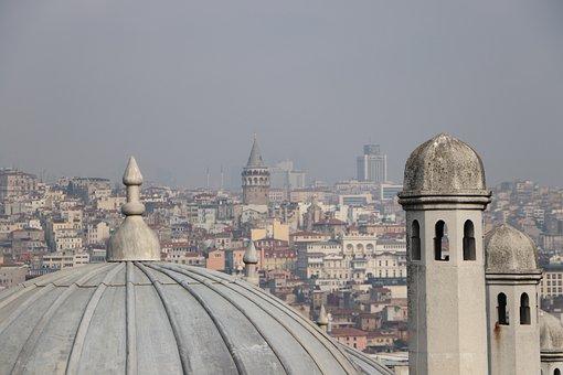 Süleymaniye, Dome, Galata, Eminönü, Fatih, Istanbul