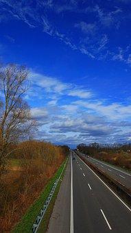 Highway, Road, Driver's License, Traffic, Asphalt