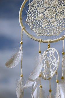 Dream Catcher, Spiritual, Indians, Feather